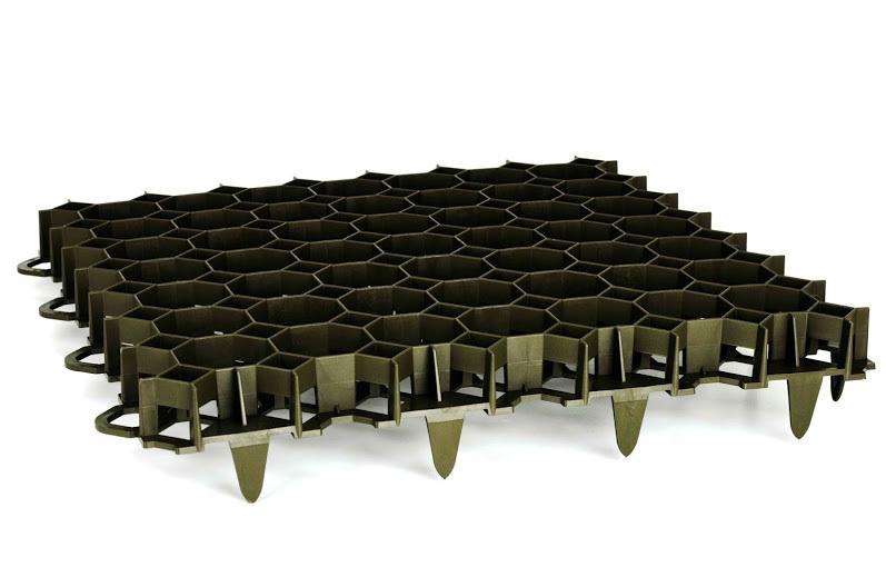 rasengitter paddockplatte wabenplatte grau 492x492mm x 39mm. Black Bedroom Furniture Sets. Home Design Ideas