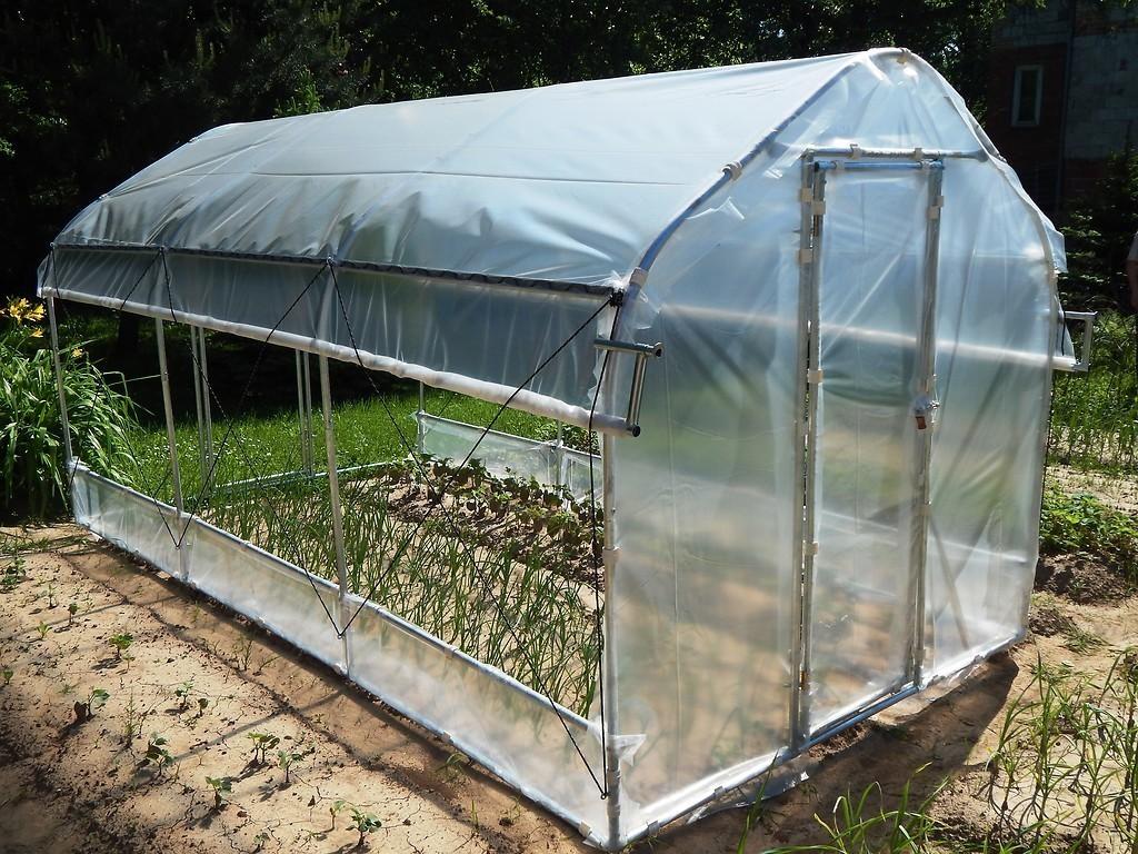 Foliengewachshaus Mit Multi Vegetationsperioden 3 0x2 15x5 0 M